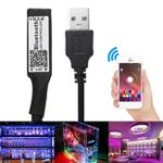 Оригинал DC5-24V 12A USB Smart RGB LED Bluetooth Контроллер для 3528 5050 Strip Light