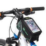 """Оригинал ROCKBROS016-5Велосипедссенсорнымэкраном Сумка для 6,0 """" Телефон Водонепроницаемы Велосипедный велосипед MTB для велосипеда П"""