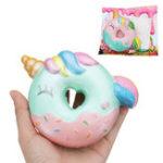 Оригинал Oriker Donuts Squishy 10cm Cute Slow Rising Toy Decor Подарок с оригинальной упаковкой Сумка