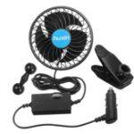Оригинал 12V/24VMiniElectricAir Cooling Fan Регулируемый вентилятор кондиционера на 360 градусов для авто Авто Автомобиль