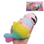 Оригинал Vlampo Рыба Squishy 20 * 13 * 8CM Медленное Восхождение с Упаковочной коллекцией Подарочная Игрушка