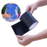 Оригинал KCASASuperStrongPVCВодонепроницаемыСтоп-утиль Уплотнение Уплотнение кухонной ленты Производительность Self Fix Tape Fiber Fix Adhesive Tape Водо