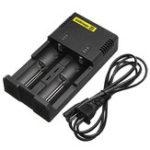 Оригинал NiteCore i2 2017 Intelligent Батарея Зарядное устройство для 18650 26650 18350 Vape US Plug / EU Plug