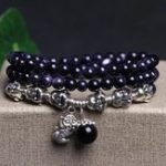 Оригинал Unisex Винтаж Многослойные бусины Crystal Lucky Bracelet