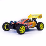 Оригинал HSP Baja 94166 1/10 2.4G 4WD 400 мм Rc Car Backwash Buggy Внедорожник с 18cxp Engine RTR Toy