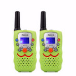 Оригинал 2шт Retevis RT32 22 канала 462-467MHz LCD Дисплей Mini Handheld Two Way Радио Walkie Talkie Kids