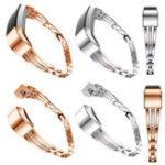 Оригинал Нержавеющая сталь Ювелирные изделия Watch Wristband Release Замена для Fitbit Alta / HR