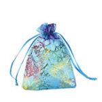 Оригинал 50Pcs Coralline Organza Gift Сумки Ювелирный мешочек Candy Свадебное Party Favor Сумка