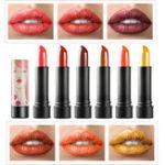 Оригинал 12 цветов С блестками Shimmer Lip Палка