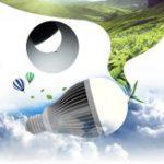 Оригинал ARILUX® 5W 7W 9W 12W 15W E27 SMD3030 Щепка Золото Чистый белый Отрицательные Ионы LED Глобусная лампа AC100-277V