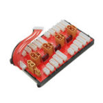 Оригинал 2 IN 1 PG Parallel Charging Board XT30 XT60 Plug Поддерживает 4 пакета 2-8S Lipo Батарея