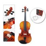 Оригинал IRIN V70 Viola String Никелированный стальной сердечник Хром-рана ADGC Полный комплект Провод Ball End