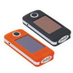 Оригинал СолнечнаяБатареяЭкологическичистыйпрочныйяркий портативный мини-EDC LED фонарик