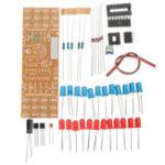 Оригинал 3шт DIY Двухцветный LED Фонарик электронный Набор Печатная плата