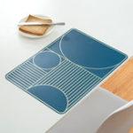 Оригинал ГлавнаяВодонепроницаемыЖиронепроницаемаяпростаягеометрияШаблон Термостойкая изоляционная столовая матовая мебель