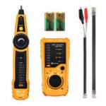 Оригинал EIVOTOR RJ11 RJ45 Сетевой кабель LAN Ethernet Tester Провод Tracker с наушниками