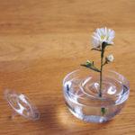 Оригинал Clear Floating Растение Vaсе Пластина Блюдо Творческая водная волна Прозрачная стеклянная чаша Украшение