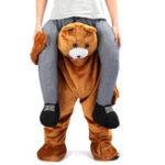 Оригинал Праздничные подарки Carry Mascot Bear Плечо Back Ride On Fancy Платье Для взрослых Костюм для вечеринок Брюки