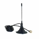 Оригинал 150 мм RG1.37 3G 3dBi 5000-6000MHz Круговой поляризованный GSM Sucker Aerial Антенна SMA / MMCX / IPEX
