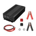 Оригинал 3000W Пиковая чистая синусоидальная инвертор мощности LED DC 12V to 110V 120V AC Converter