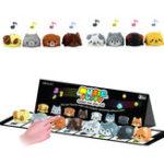 Оригинал 8 PCS Musical Шкала Собака Touch Sensitive Музыкальная игрушка для фортепиано Обучение Забавные новинки Игрушка с упаковкой