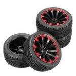 Оригинал AUSTAR 4PC 68 * 26 мм Резиновые шины для шин Шины для колесных дисков для 1/10 On-Road Rc Авто Parts