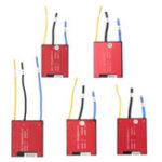 Оригинал 8s 24V BMS 16A / 25A / 35A / 45A / 60A Lifepo4 Ion Cell Батарея Защитная панель с балансировочным удостоверением воды
