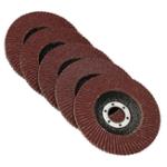 Оригинал 50Pcs 125 мм шлифовальный диск шлифовального круга 40/60/80/100/120 шлифовальный станок для шлифовальной машины