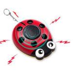 Оригинал AF-4201130dbEmergencyСамозащитаPersonalSecurity Alarm Everyday Carry Брелок Light for Elder Kid Женское & Music Speaker