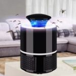 Оригинал USB LED Электрический убийца для москитов Лампа Ловушка для мухи насекомых Zapper Light Indoor Safe