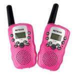 Оригинал 2штRetevisRT38822канала462 ~ 467MHz Mini Handheld Kids Two Way Радио Walkie Talkie с зарядным устройством Батарея