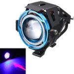 Оригинал 12V 10W IP67 мотоцикл LED Фары Противотуманные фары Лампа Spotlight Angle Eyes