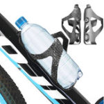 Оригинал BIKIGHT 3K Full Carbon Fiber Water Bottle Holder Сверхлегкий велоспорт MTB Road Bike Bicycle Bottle Cage черный