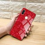 Оригинал BakeeyShellBlingГлянцевоезакаленноестекло Soft Защитная краска Чехол для Xiaomi Redmi Note 5