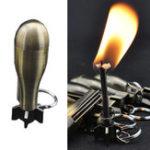 Оригинал IPRee®НаоткрытомвоздухеЗажигательСтартер Цинковый сплав Керосиновая ракета 10000 раз для пожарной машины Брелок Прикуривате