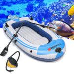 Оригинал 198x122см2Человек надувной Лодка ПВХ Каяк Рыбалка Лодка Весы для загрузки плодов 180 кг
