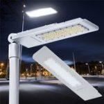 Оригинал 150W 144 LED Street Road Light Водонепроницаемы На открытом воздухе Дверь Алюминий Лампа Прожектор AC100-240V