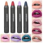 Оригинал 12 цветов Nude Matte Velvet Lip Палка Ручка