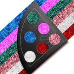 Оригинал 6 Colors Shimmer Водонепроницаемы Палитра тени для век