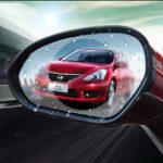 Оригинал 2шт 9.5см Авто Водонепроницаемы Nano Зеркало заднего вида с противотуманным фаром Soft Защитная пленка Прозрачная