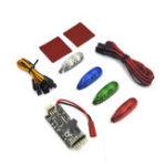 Оригинал 4 PCS 12V RC Night Light C LED Контрольная панель Встроенный зуммер 2-6S Вход для RC Racing Дрон