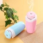 Оригинал 2W 250ML USB Vase Air Humidifier Diffuser Ultrasonic Aroma Mist Air Purifier