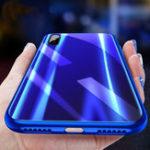Оригинал CafeleЛазерЦветградиентасградиентом цвета Устойчивое защищенное стекло Защитный Чехол Для iPhone X