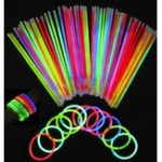 Оригинал 100штМногоцветныйRitiumGlowSticksТемный участник огни Браслеты Glow Sticks Свадебное Украшение Мигает светодиодные игрушки Светлые па