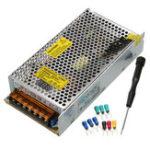 Оригинал LCD Дисплей 0-12V 17A 200W Регулируемый источник питания переменного тока AC 110 / 220V