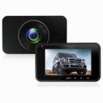 Оригинал H15 Двойной Объектив Авто Видеорегистратор HDR 1296P Mini камера Видеомагнитофон Dash Cam Ночное видение