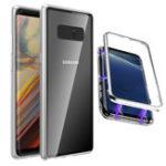 Оригинал BakeeyМагнитноеадсорбционноеалюминиевоезакаленноестекло защитное Чехол для Samsung GalaxyNote8