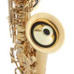 Оригинал SLADE ABS Акустический саксофон для глушителя глушителя для саксофона саксофона Sax Woodwind Instruments Parts
