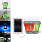 Оригинал На открытом воздухе LED Солнечная Pannel Lights Mosquito Лампа Насекомое-убийца USB-мобильное зарядное устройство Кемпинг Light