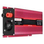 Оригинал 1500 Вт DC12V / 24V до AC220V / 110V Солнечная Инвертор синусоидального инвертора LCD Напряжение Дисплей